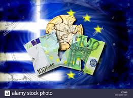 100 Pics Flags Torn 100 Euro Light And Ruined Eurocoin Before Greece And Eu Flag