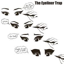 Eyeliner Meme - my current favorite eye and lip liners makeup wars notes from