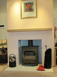 oak mantle piece floating shelf or lintel supplied with corbels