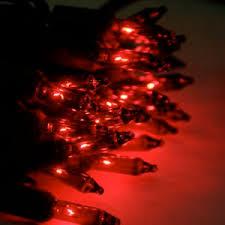 50 lights on black wire