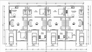 row home plans 4 bedroom row house plans fresh row house floor plans philippines