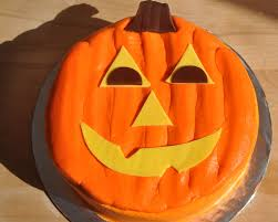 Halloween Pumpkin Cakes Beki Cook U0027s Cake Blog Simple Jack O Lantern Cake