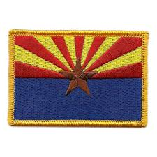State Flag Velcro Patches Arizona Tactical State Patch Gadsden And Culpeper