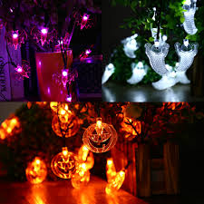 Purple Led Halloween Lights Online Get Cheap Halloween String Lights Aliexpress Com Alibaba
