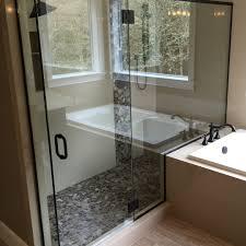 portland frameless shower enclosure custom shower doors