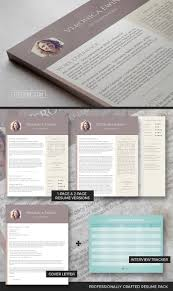 Modern Professional Resume Templates Professional Resume Template Set The Honeycomb