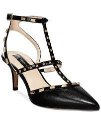 Macys Womens Comfort Shoes Inc International Concepts Carma Pointed Toe Studded Kitten Heel