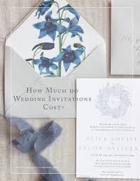 wedding invitation cost how much do wedding invitations cost kelsey malie calligraphy