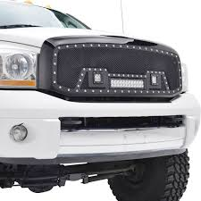 dodge grill 06 08 dodge ram 1500 06 09 2500 3500 evolution stainless steel
