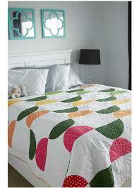 Bed Quilt Modern Patchwork Fall 2016