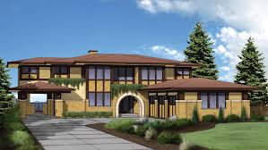 prarie style homes architecture prairie style house plans adhome