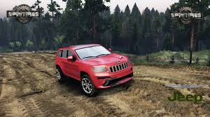 modded jeep renegade jeep grand cherokee srt 8 spin tires 2014 download mod youtube
