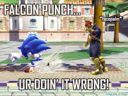 Falcon Punch Meme - exhausting a meme a gallery of falcon punches