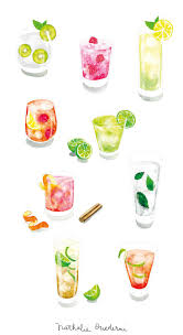 cocktail drawing 20 best illustrations cocktails images on pinterest food