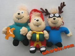 plush alvin and the chipmunks
