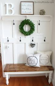 diy farmhouse bench tutorial farmhouse style pinterest