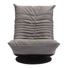 Tufted Swivel Chair Derby Gray Low Modern Swivel Chair Eurway Furniture