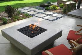 Concrete Fire Pits by Fire Pit Bar Top Fire Pit Table With Copper Base Tier 1 Stone