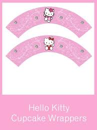 kitty cupcake wrappers free pdf download sanrio