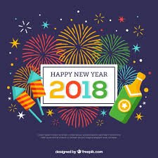 happy new year backdrop happy new year background with fireworks and chagne bottle