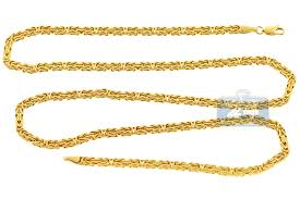 byzantine gold necklace images Italian 14k yellow gold byzantine mens chain 3 5 mm jpg