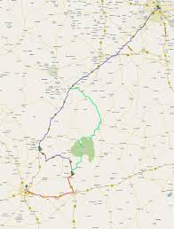 Bahadurgarh Metro Map by Printable Road Map Delhi To Bhangarh Maps And Routes An