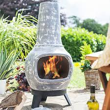 Extra Large Clay Chiminea Buy La Hacienda Langdale Clay Chiminea Online At Johnlewis Com