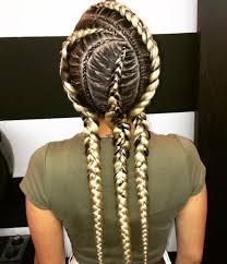 hairstyles to do with plaited extensions 20 totally gorgeous ghana braids for an intricate hairdo blonde