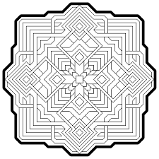 downloadable coloring pages fractals coloring home