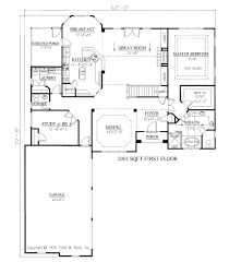 2 Story Great Room Floor Plans by European Style House Plan 3 Beds 2 50 Baths 2800 Sq Ft Plan 437 4