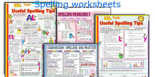 english teaching worksheets spelling