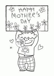 mother coloring pages printable card with flowers for mothers day coloring page for kids coloring