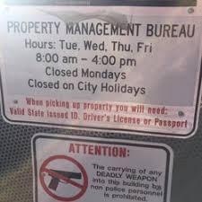 az bureau department property managment bureau