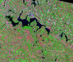 Map North Dakota Devils Lake North Dakota Usa Earthshots Satellite Images Of