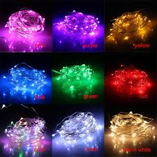 topled 5m 50 led light led battery string lights