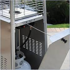 Glass Tube Patio Heater Az Patio Heaters Hlds01 Gtss Quartz Glass Tube Patio Heater
