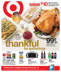 thanksgiving november 22 target weekly ad thanksgiving 2016