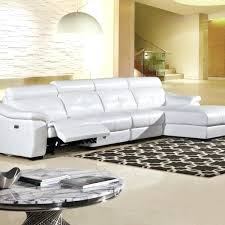 chaise pc chaise 3 en 1 3 pc modern white leather sectional sofa