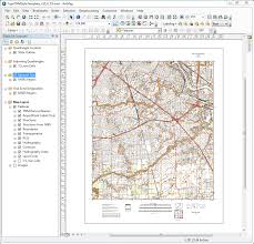 Gis Map New Gis Ready Topographic Map Style Template Released
