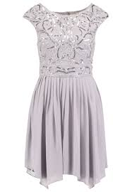 lace u0026 beads grace cocktail dress party dress grey zalando