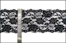 black lace trim china lace trimming black lace trim stretch lace fabric trim