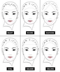 head shapes and hairstyles drawn makeup face shape pencil and in color drawn makeup face shape