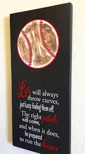 baseball wedding sayings play for him baseball gift for player unique boy s
