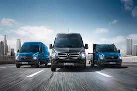 mercedes freshens sprinter and makes it the world u0027s first van to