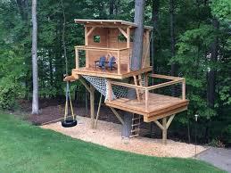 Backyard Forts For Kids Modern Kids By Living Edge Treehouses U0026 Edible Landscapes