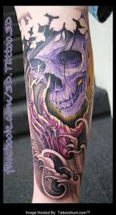 awesome 3d japanese skull tattooshunt com