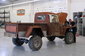 desert military jeep diesel brothers photos duramax monster and a rusty 1948 willy u0027s