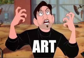 Meme Art - it s art by dumbbum meme center