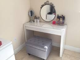 Makeup Organizer Desk Bedroom Make Up Desk Ideas With Vanity Mirrored Desk Makeup