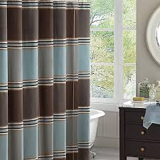 Park Shower Curtains Madison Park Lincoln Park Jacquard Shower Curtain In Blue House